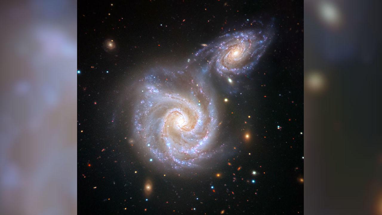 """Столкновение с """"колбасной галактикой"""" навсегда изменило форму Млечного Пути"""