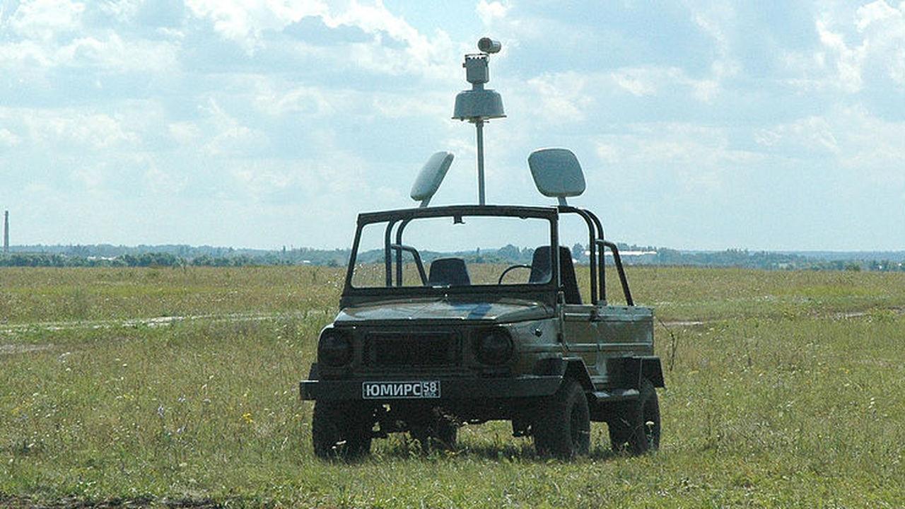 В Пензе создали электромобиль для поиска дронов