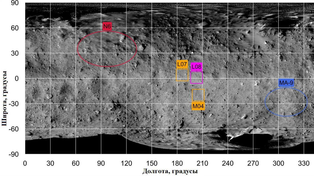 Выбрано место для посадки первого астероидного ровера