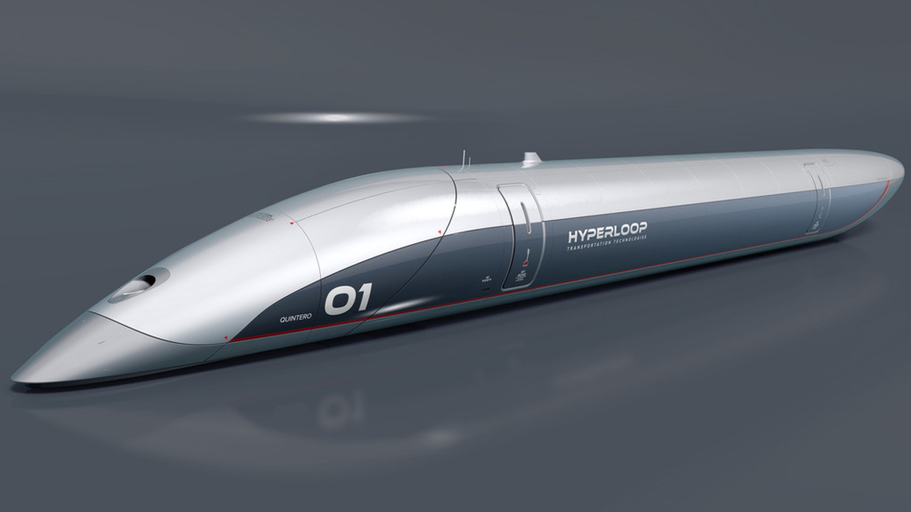 Представлена первая полноразмерная пассажирская капсула Hyperloop
