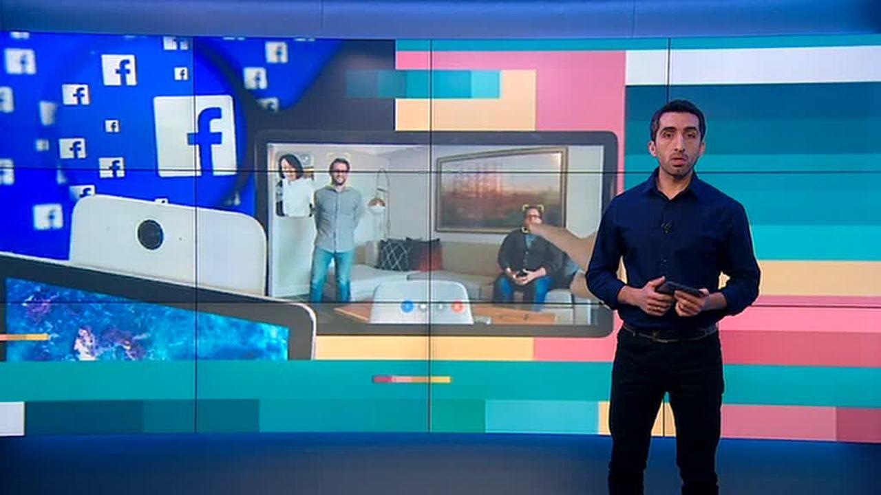 """Вести.net: Facebook представил """"умные"""" экраны для видеозвонков"""