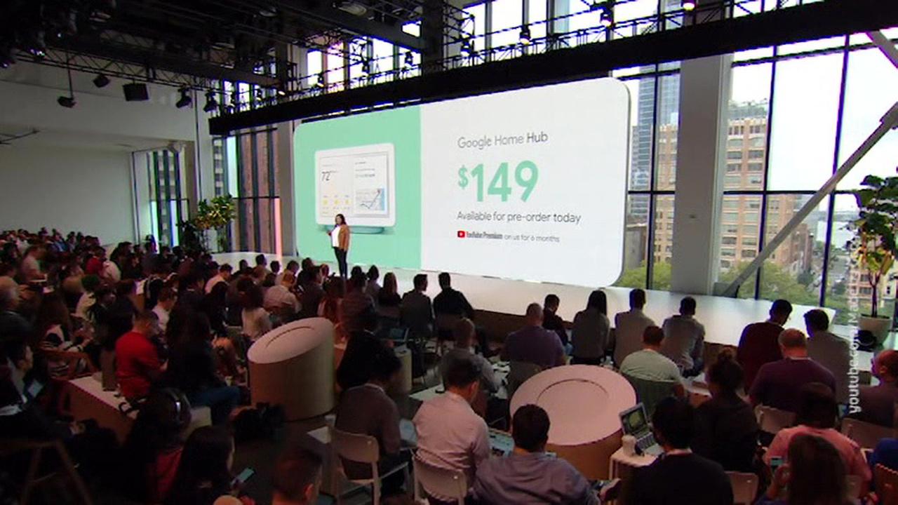 """Вести.net: Google представил смартфоны Pixel 3, планшет Slate и """"умный"""" экран Home Hub"""