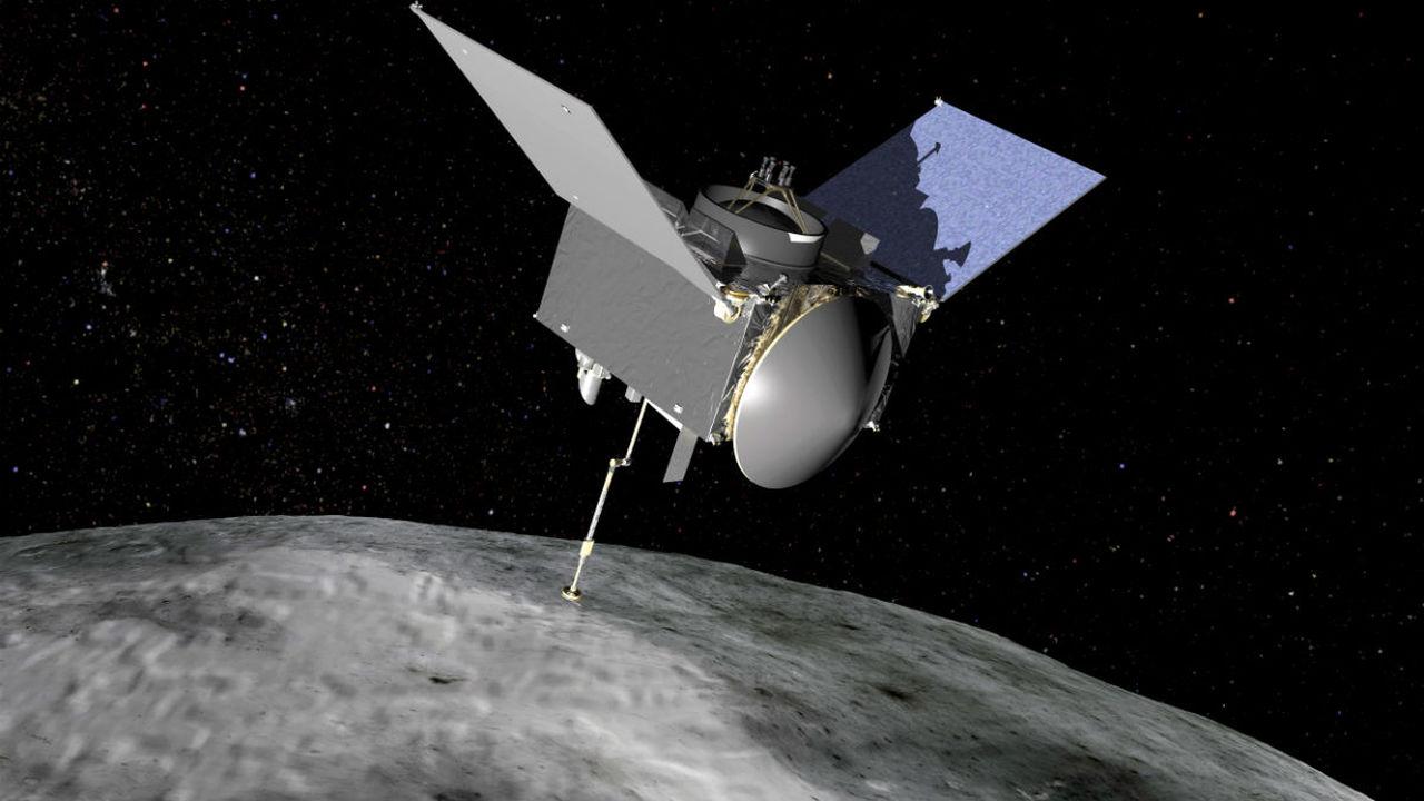 Зонд OSIRIS-REx вышел на орбиту астероида Бенну