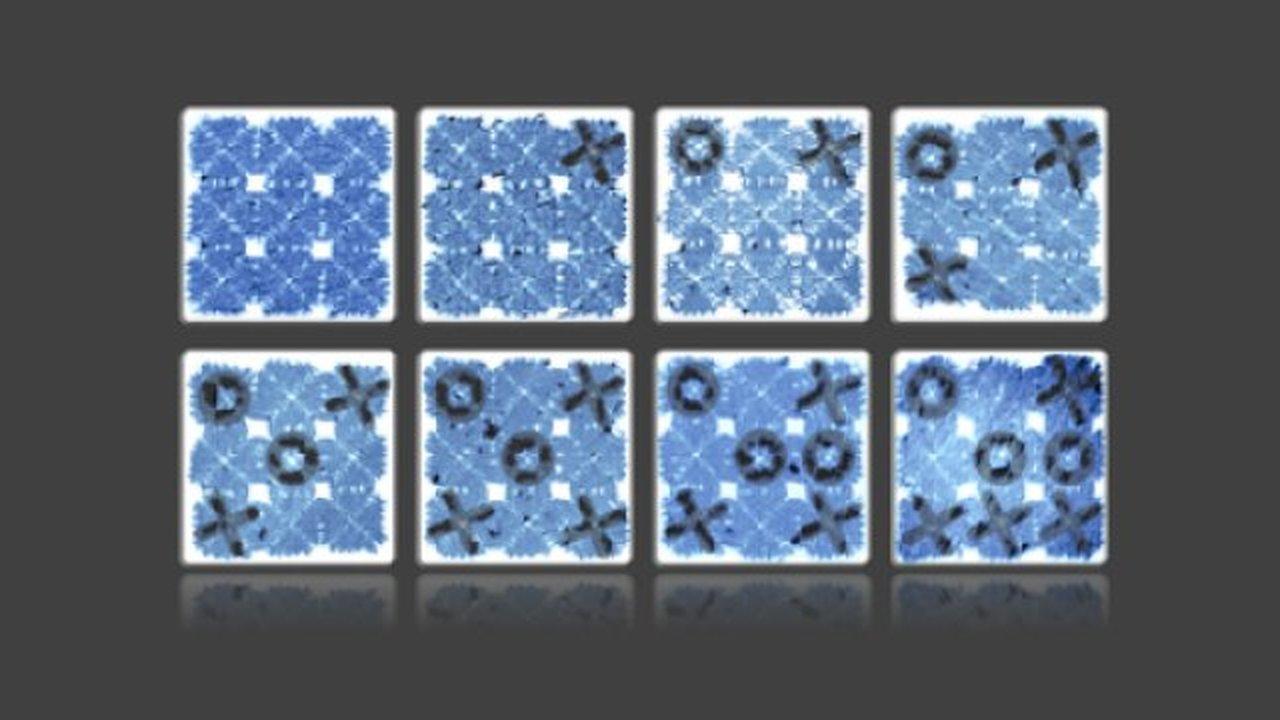 """Из нитей ДНК собрали самые маленькие в мире """"крестики-нолики"""""""