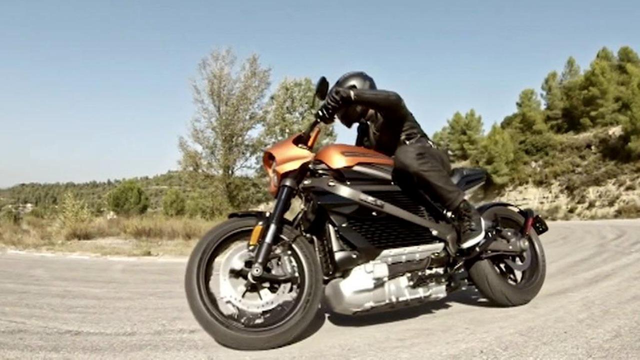 Легендарный Harley-Davidson стал детищем Panasonic