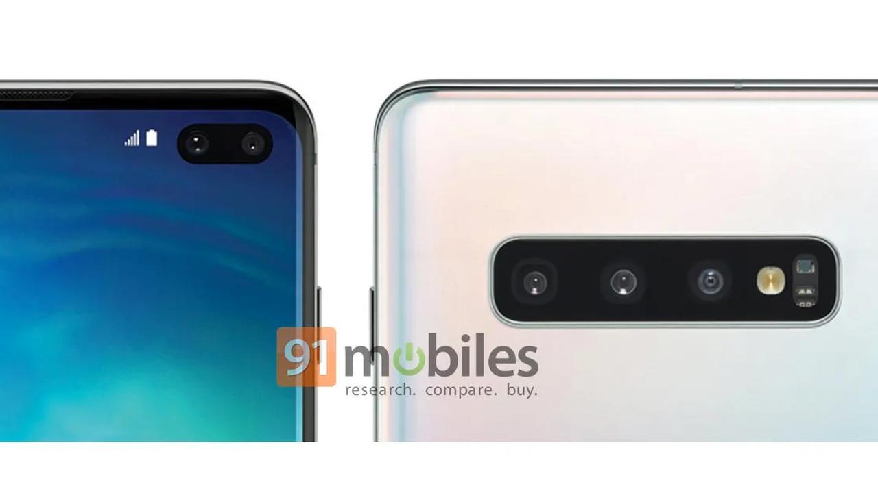 Samsung Galaxy S10+: в интернете опубликован официальный рендер