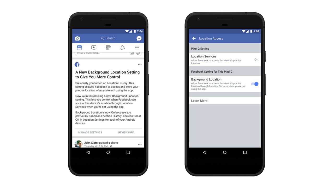 Facebook разрешил пользователям Android прятаться от слежки