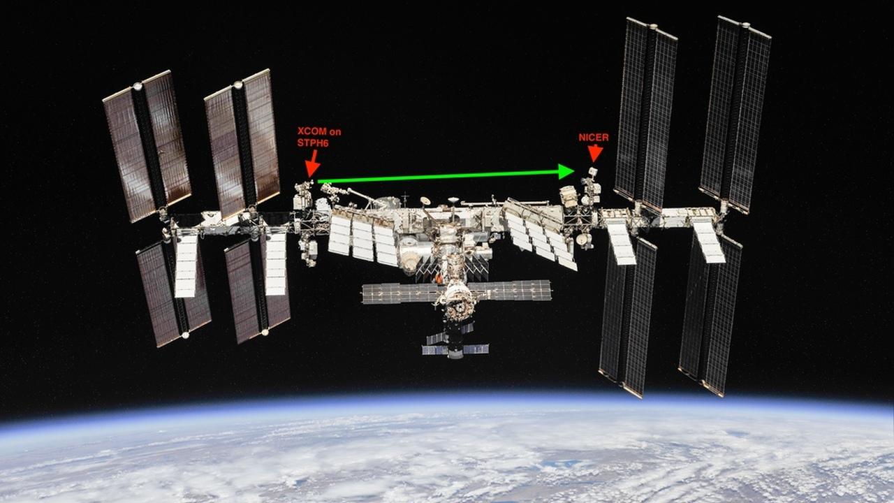 На МКС протестируют систему связи на основе рентгеновских лучей