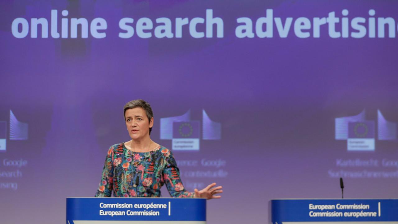 Google выписали штраф в 1,49 млрд евро