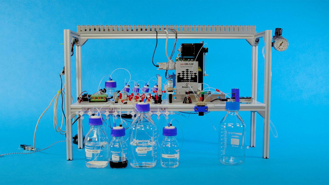 Создана первая автоматическая система хранения файлов в ДНК