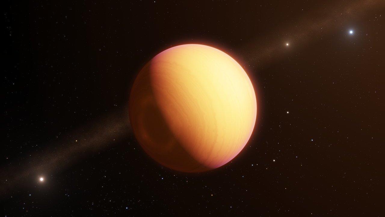 Железные облака: астрономы впервые в деталях разглядели атмосферу экзопланеты