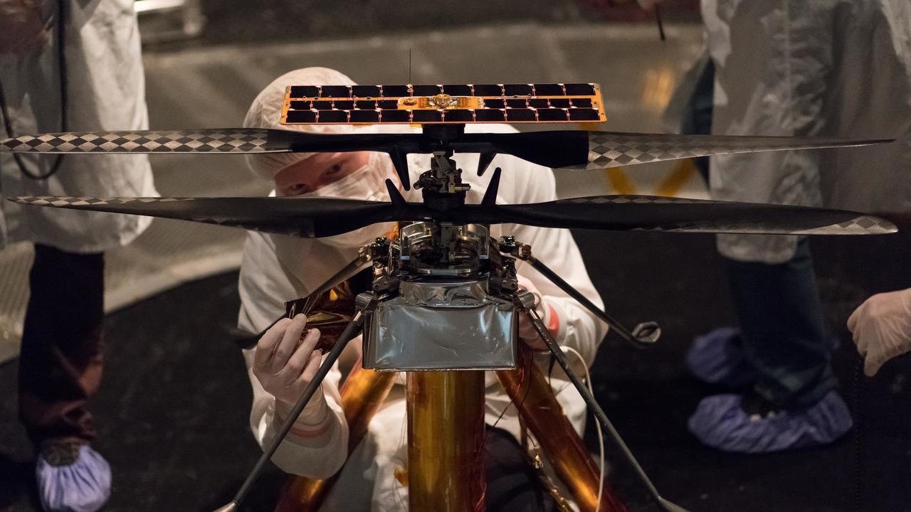 Марсианский вертолёт НАСА завершил лётные испытания