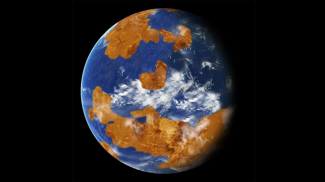 Непригодной для жизни Венеру могли сделать её собственные океаны