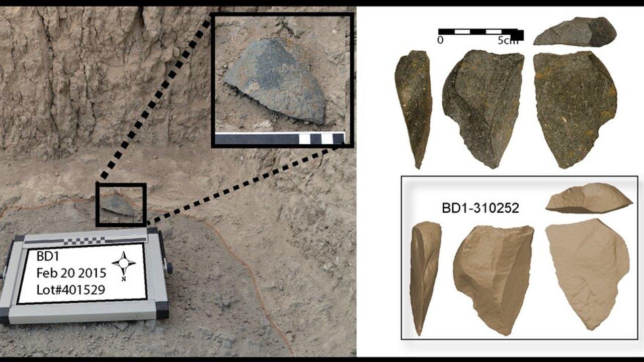 Предки людей изобретали методики изготовления каменных орудий несколько раз и в разных местах