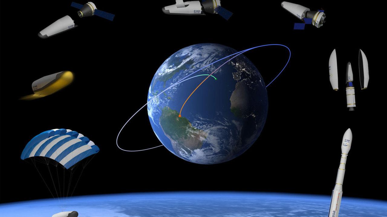 Европейское космическое агентство представило проект многоразовой космической лаборатории