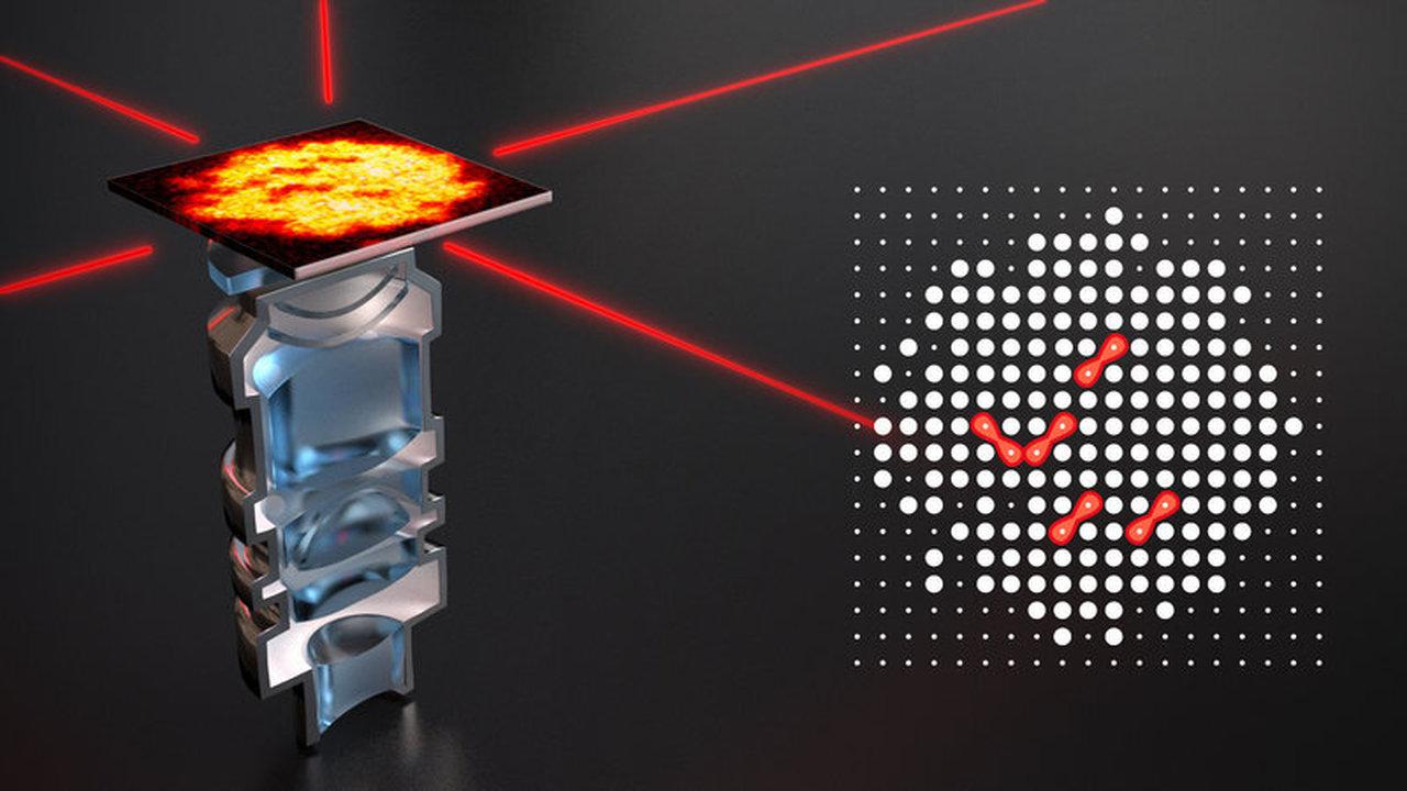Физики создали молекулу размером с живую клетку