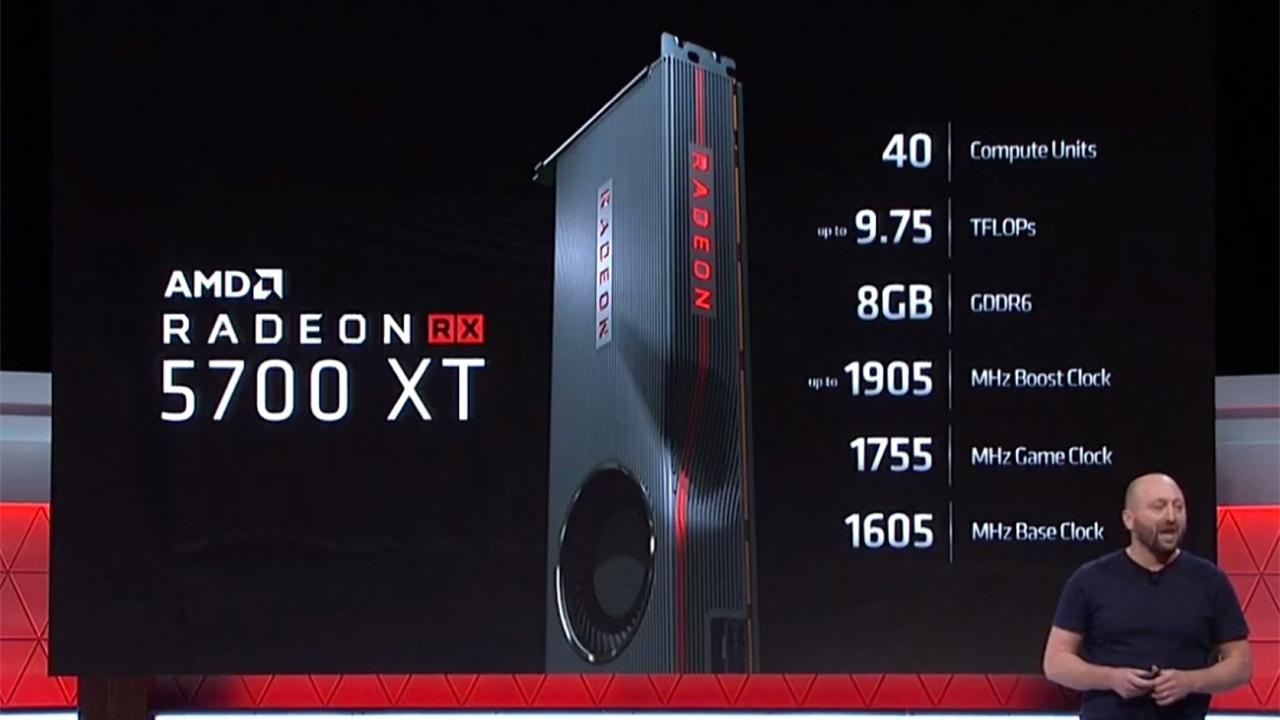 AMD представила новые видеокарты среднего уровня