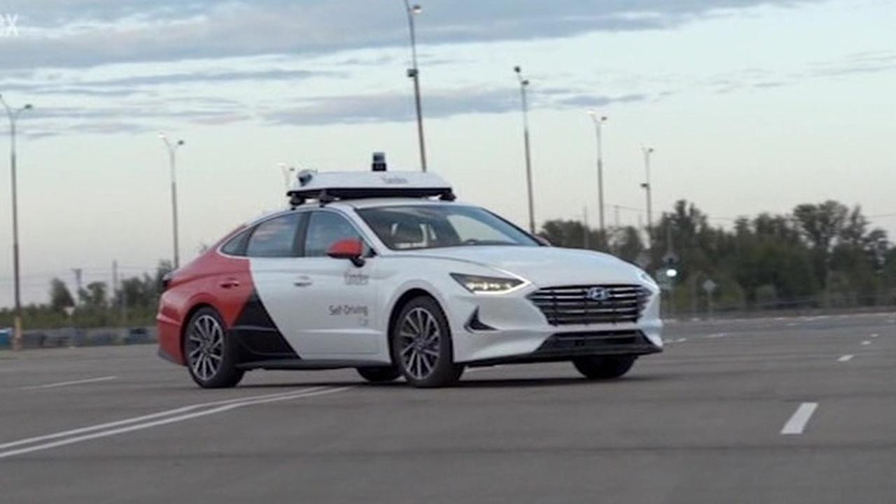 Вести.net: Яндекс и Hyundai показали прототип беспилотного автомобиля