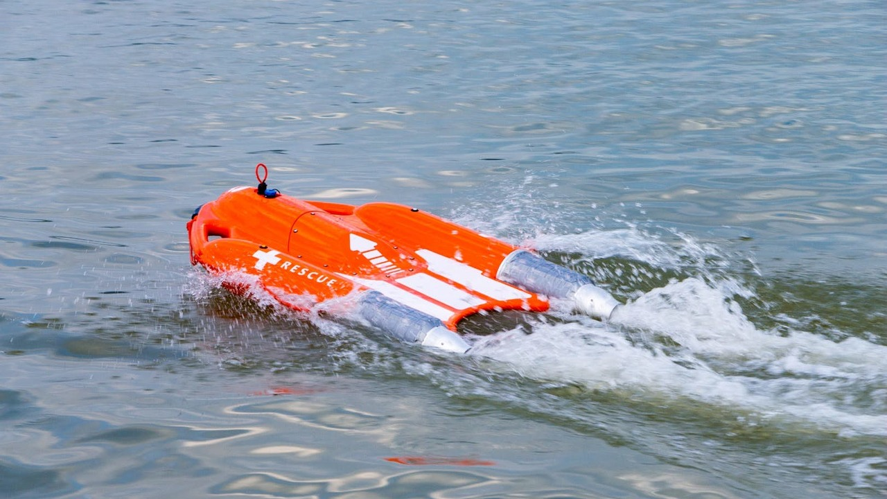 """Спасением утопающих займётся """"Дельфин"""" на дистанционном управлении"""
