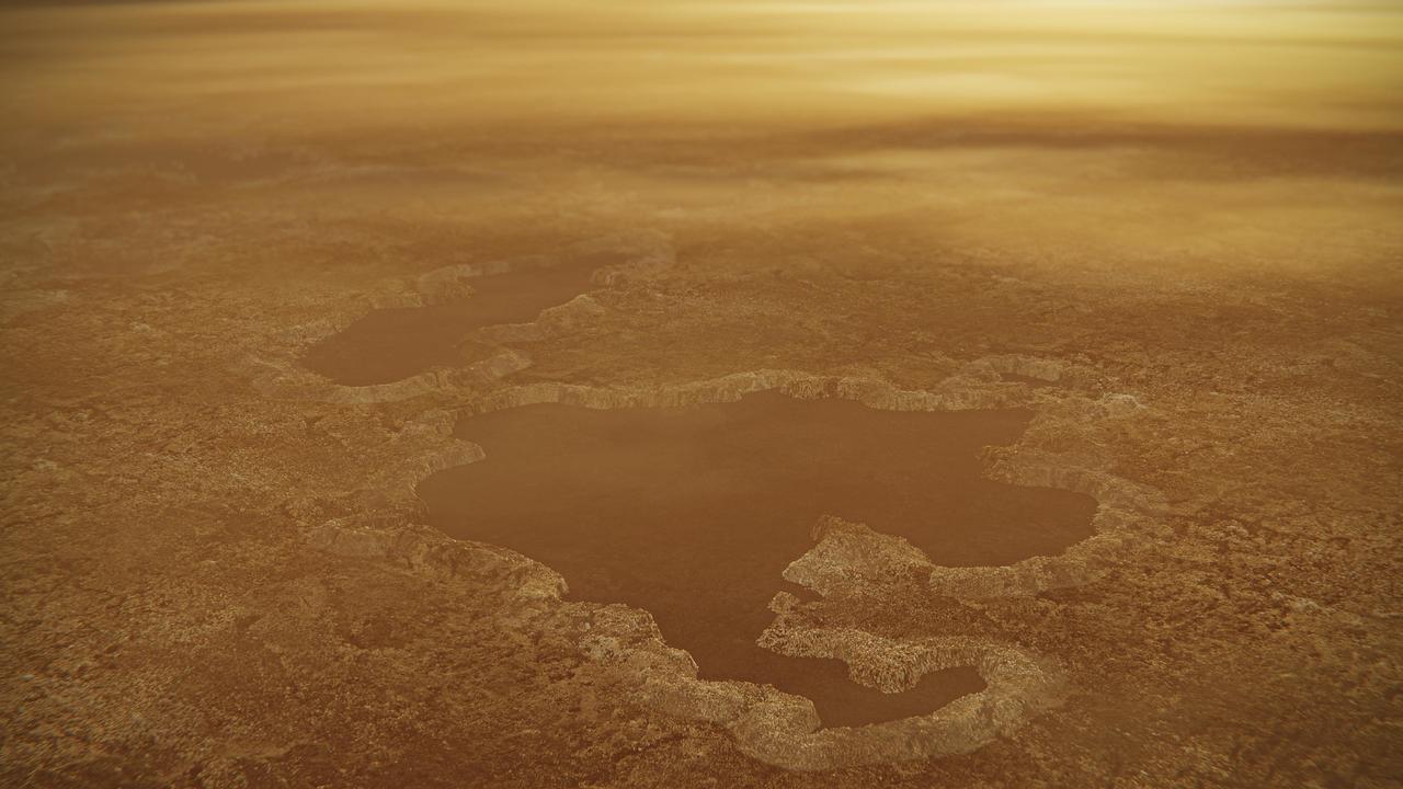 Озёра на Титане могут быть воронками гигантских взрывов