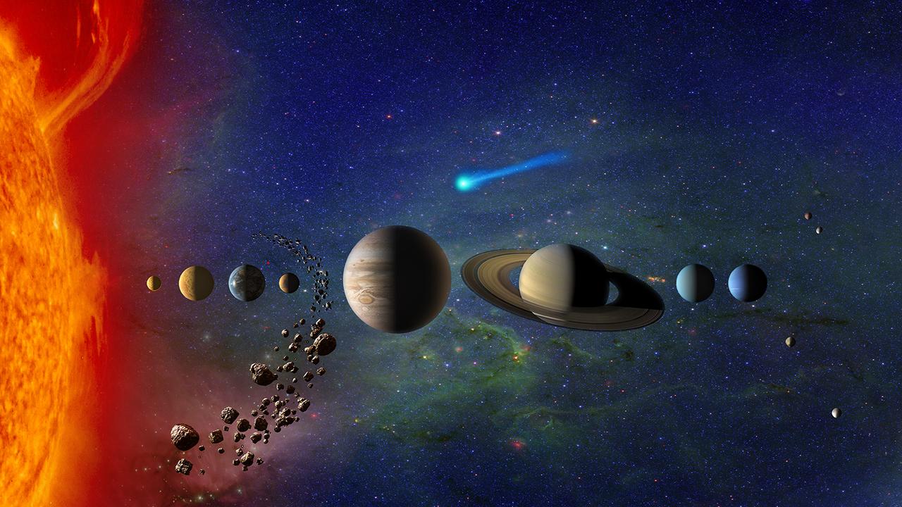 """В Солнечной системе открыт второй """"пришелец"""" из межзвёздных пространств"""