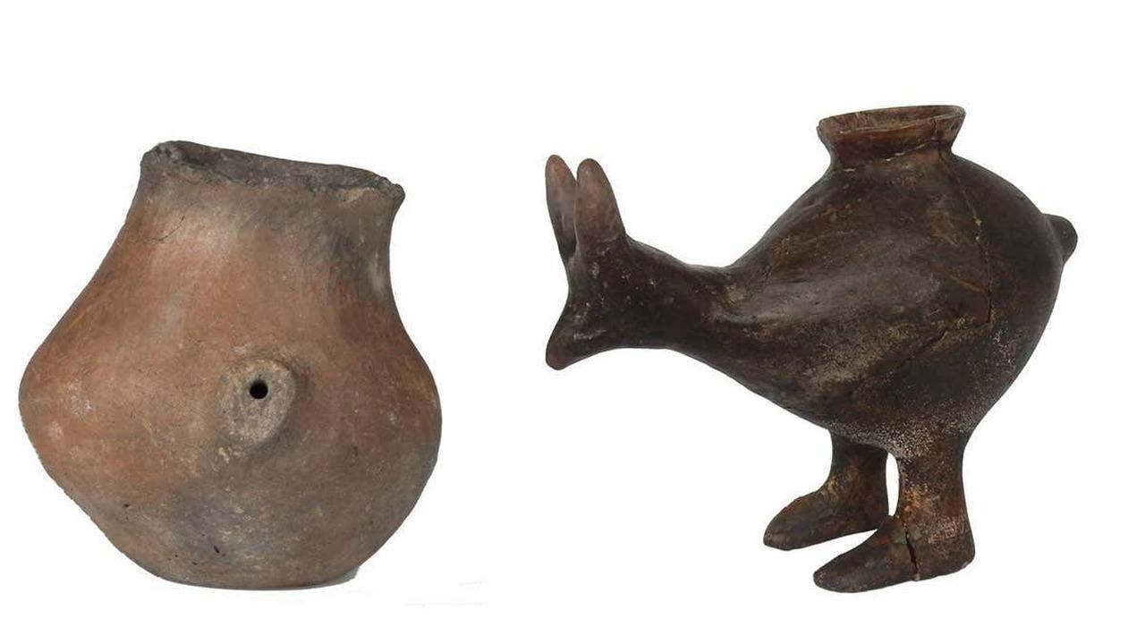 Детские бутылочки для кормления малышей появились в Европе в эпоху неолита