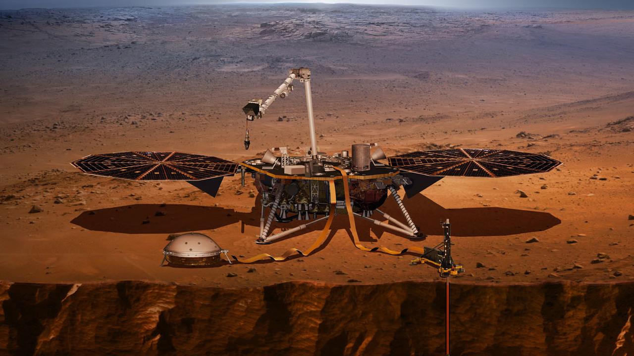 Опубликована аудиозапись марсианских шумов и марсотрясений