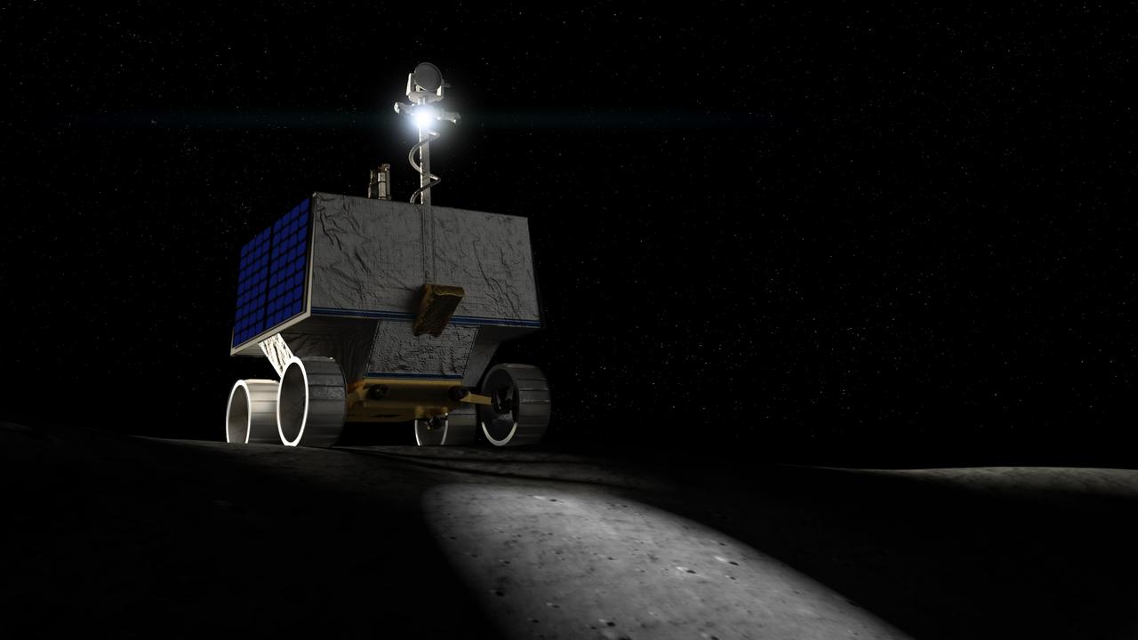Луноход НАСА соберёт пробы льда через три года