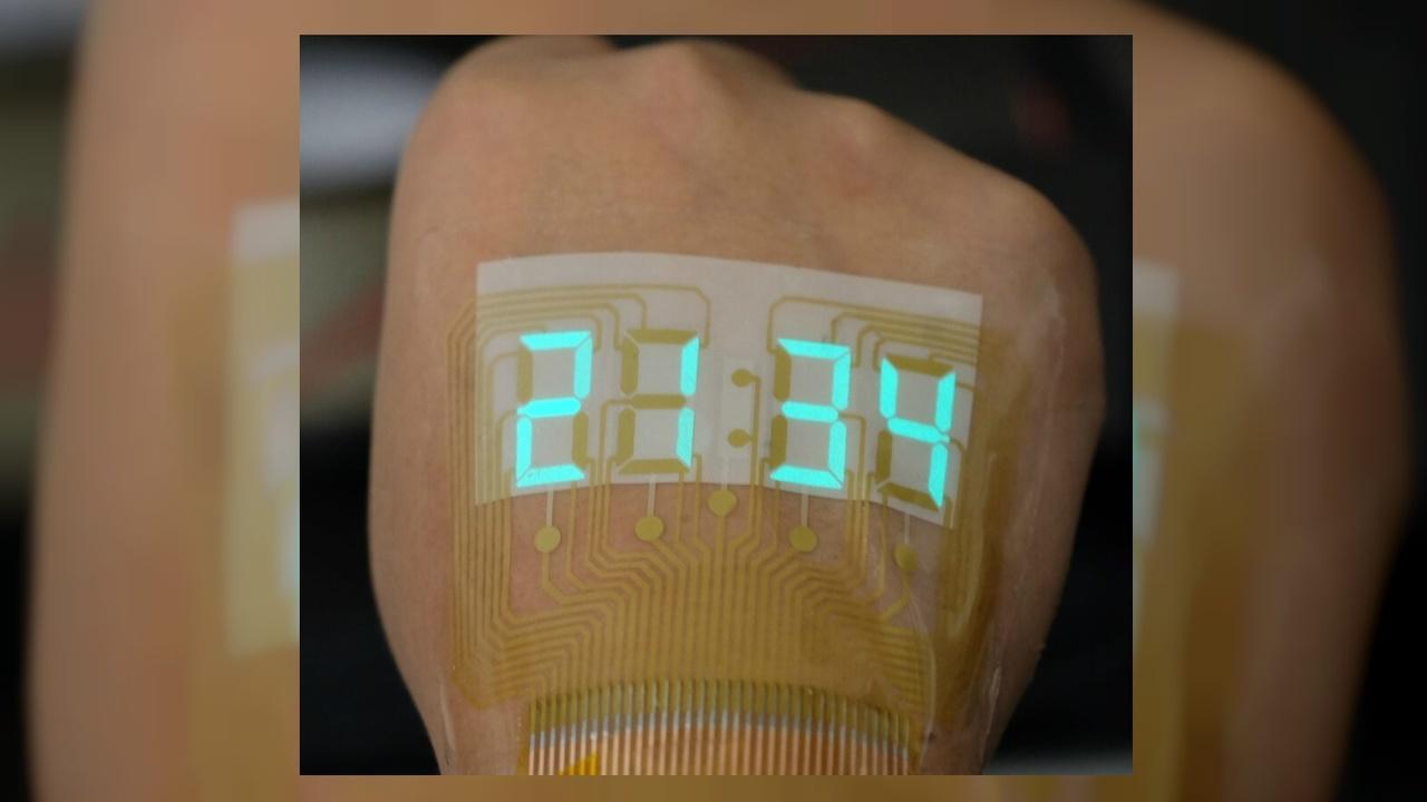Электролюминесцентные дисплеи сделали безопасными для кожи человека
