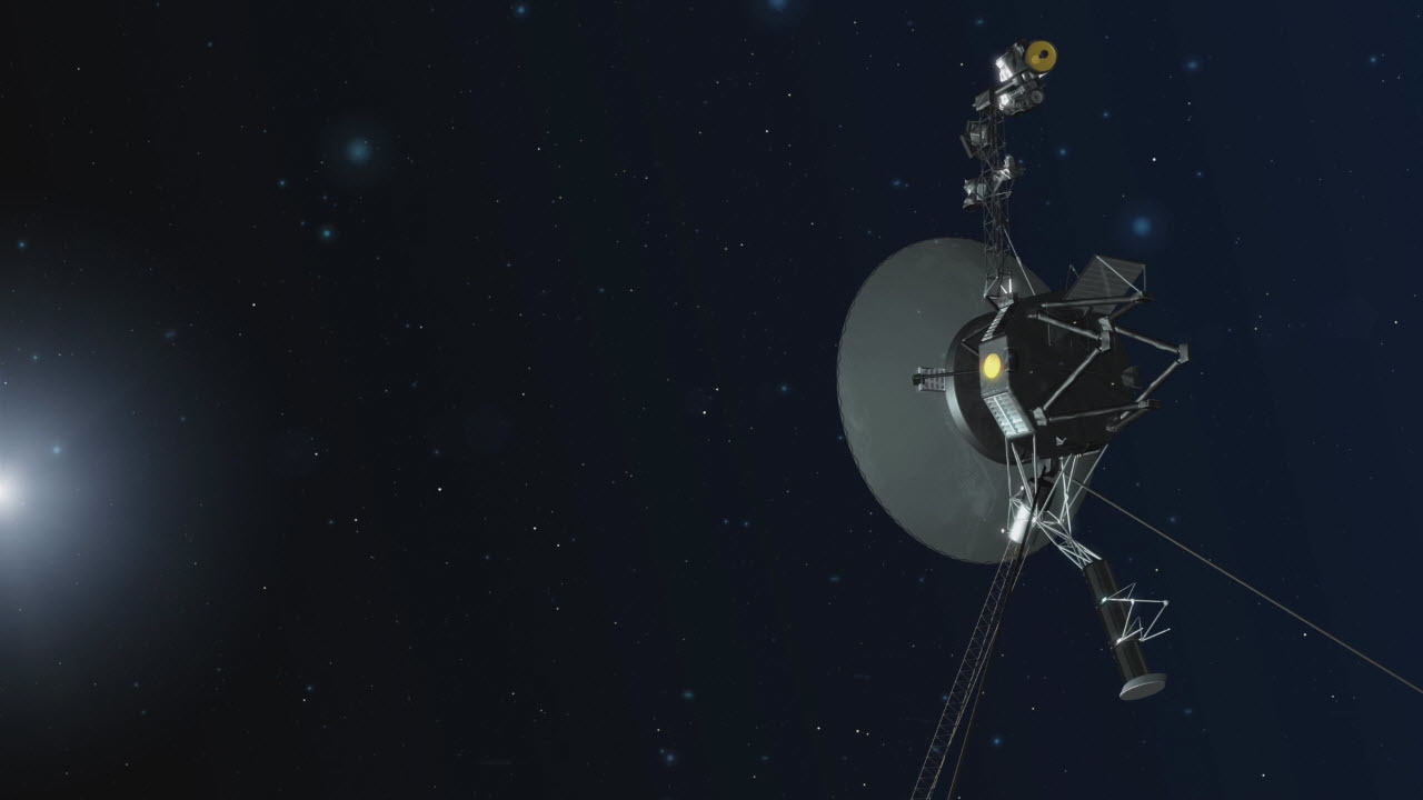 """""""Вояджер-2"""" прислал первые данные из межзвёздного пространства"""