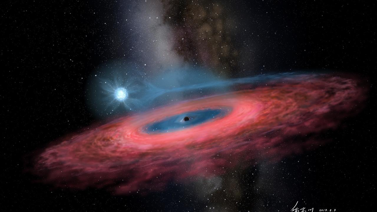Обнаружена невозможная чёрная дыра