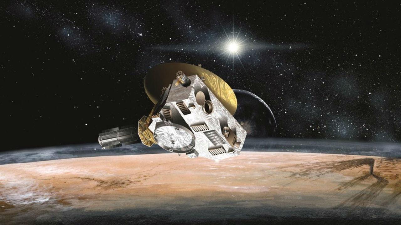 Измерено замедление солнечного ветра за Плутоном