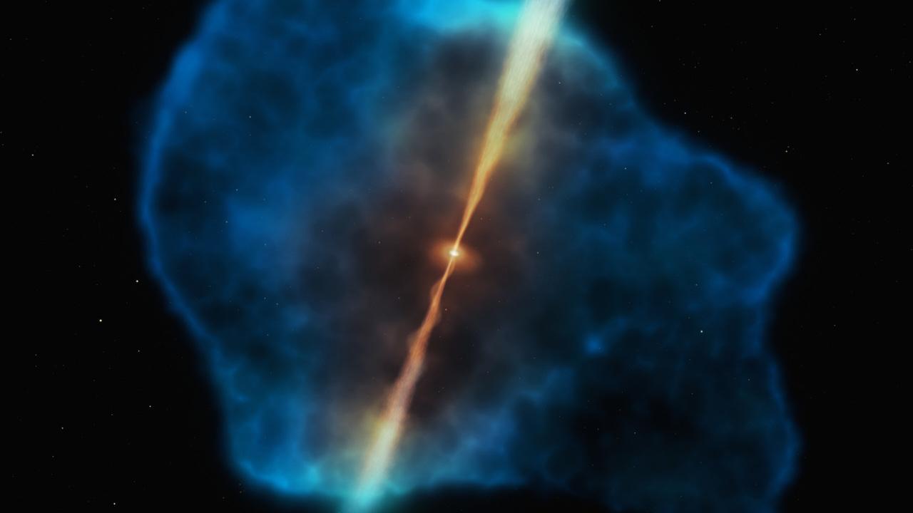 Раскрыт секрет питания первых сверхмассивных чёрных дыр