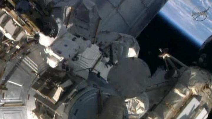 Астронавты вернулись на МКС: ремонт идет с опережением графика