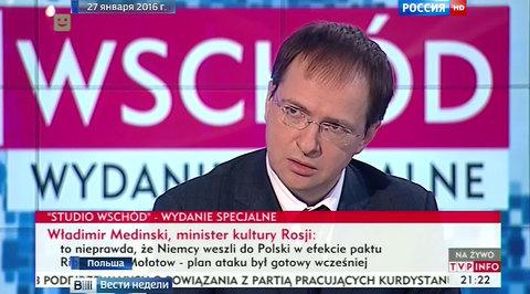 Мединский предложил работу уволенному польскому продюсеру