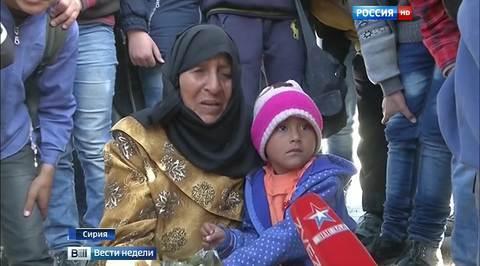 Сирийцы: без помощи России нам не выжить