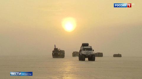 Тест-драйв за Полярным кругом: российские военные испытывают спецтехнику