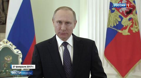 Путин: военные ССО защитят Россию от террористов и других угроз