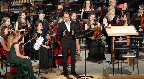 Оркестр будущего. Гала-концерт в Большом зале Консерватории