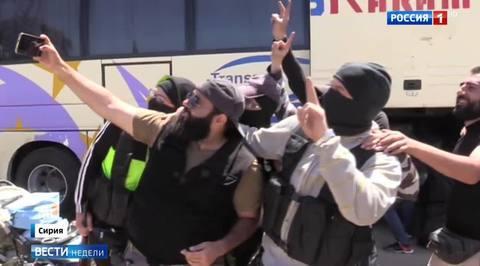 Боевики назвали уход из Хомса политическим решением