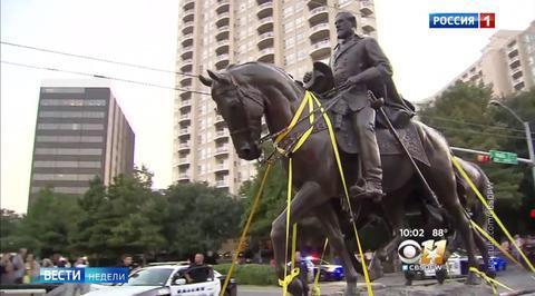 Война с памятниками: США начинают жить по-украински