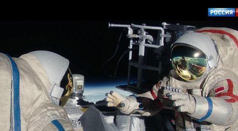 """Салют-7. Остросюжетная история реального подвига (сюжет программы """"Вести"""")"""