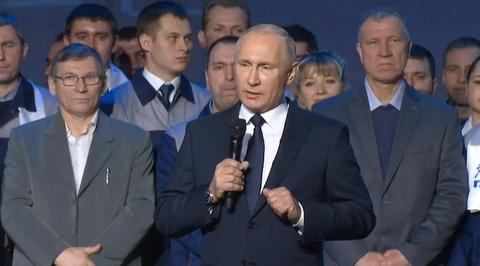 Путин объявил о намерении участвовать в выборах