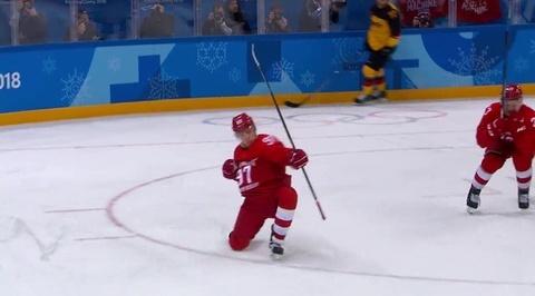 XXIII Зимние Олимпийские игры. Никита Гусев оформляет дубль в меньшинстве