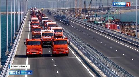Крымский мост раскритиковали из-под киевского