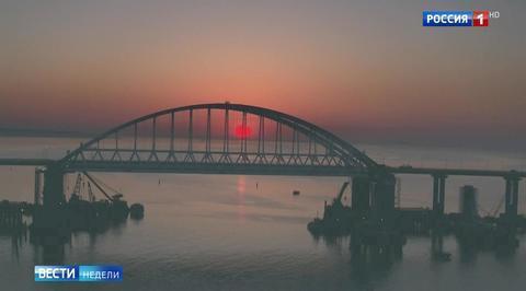 Тест Крымского моста: президента было не остановить