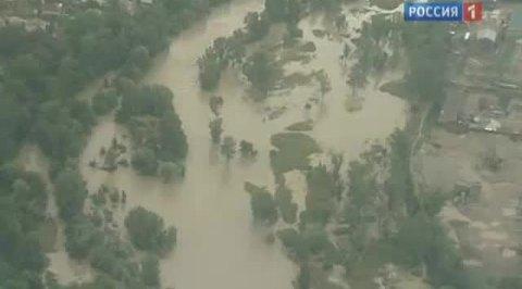 Паводок затопил несколько городов