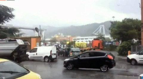 Обрушение моста в Генуе: погибли десятки человек