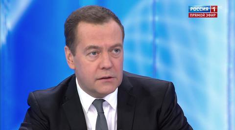Разговор с Дмитрием Медведевым. Эфир от 06.12.2018