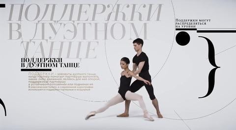 Балетная энциклопедия. Поддержки в дуэтном танце
